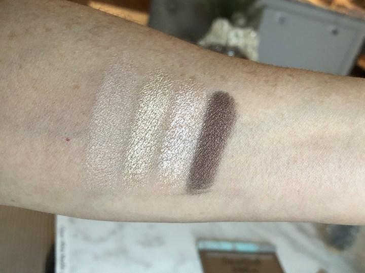 L.O.V. eyeshadow palette swatches