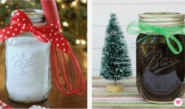 diy creative gifts in a jar