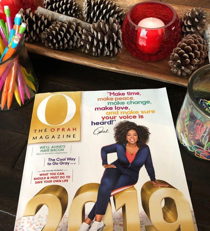 January Oprah Magazine