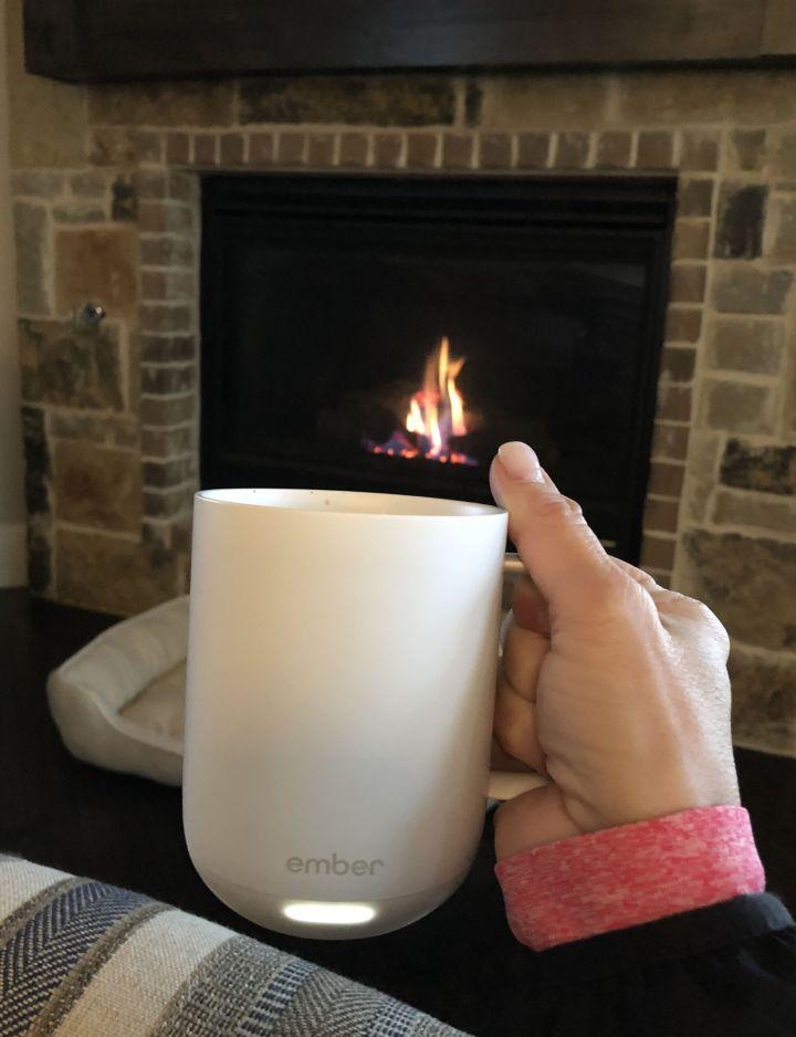 the Ember mug will keep your coffee hot