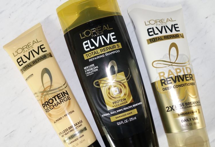 L'Oreal Elvive hair products
