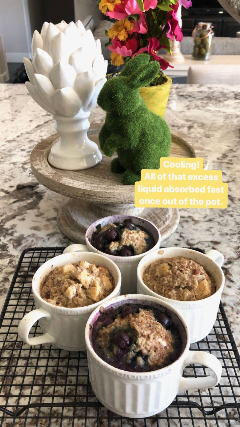 Instant Pot healthy oatmeal