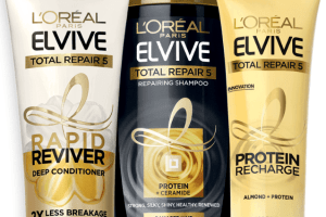 L'Oreal Paris Elvive products