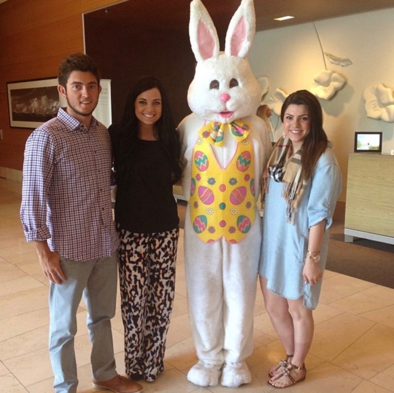 throwback Easter picture