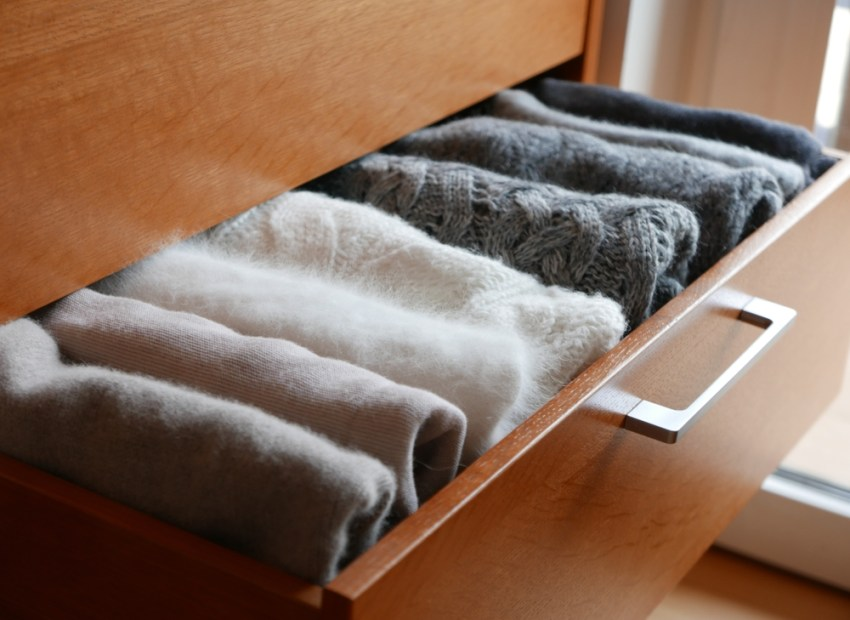 organized drawers