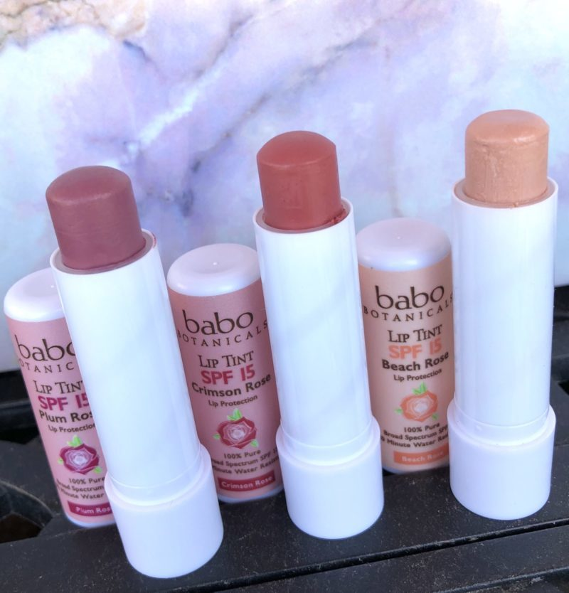 Babo Botanicals Lip Tints review