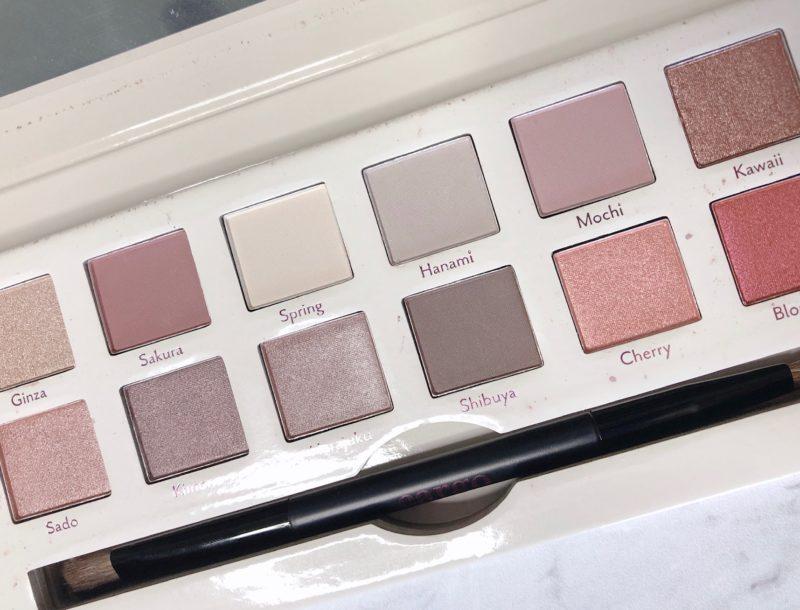 Cargo cosmetics Tokyo in Bloom eyeshadow palette