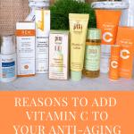 Vitamin C for anti-aging skincare