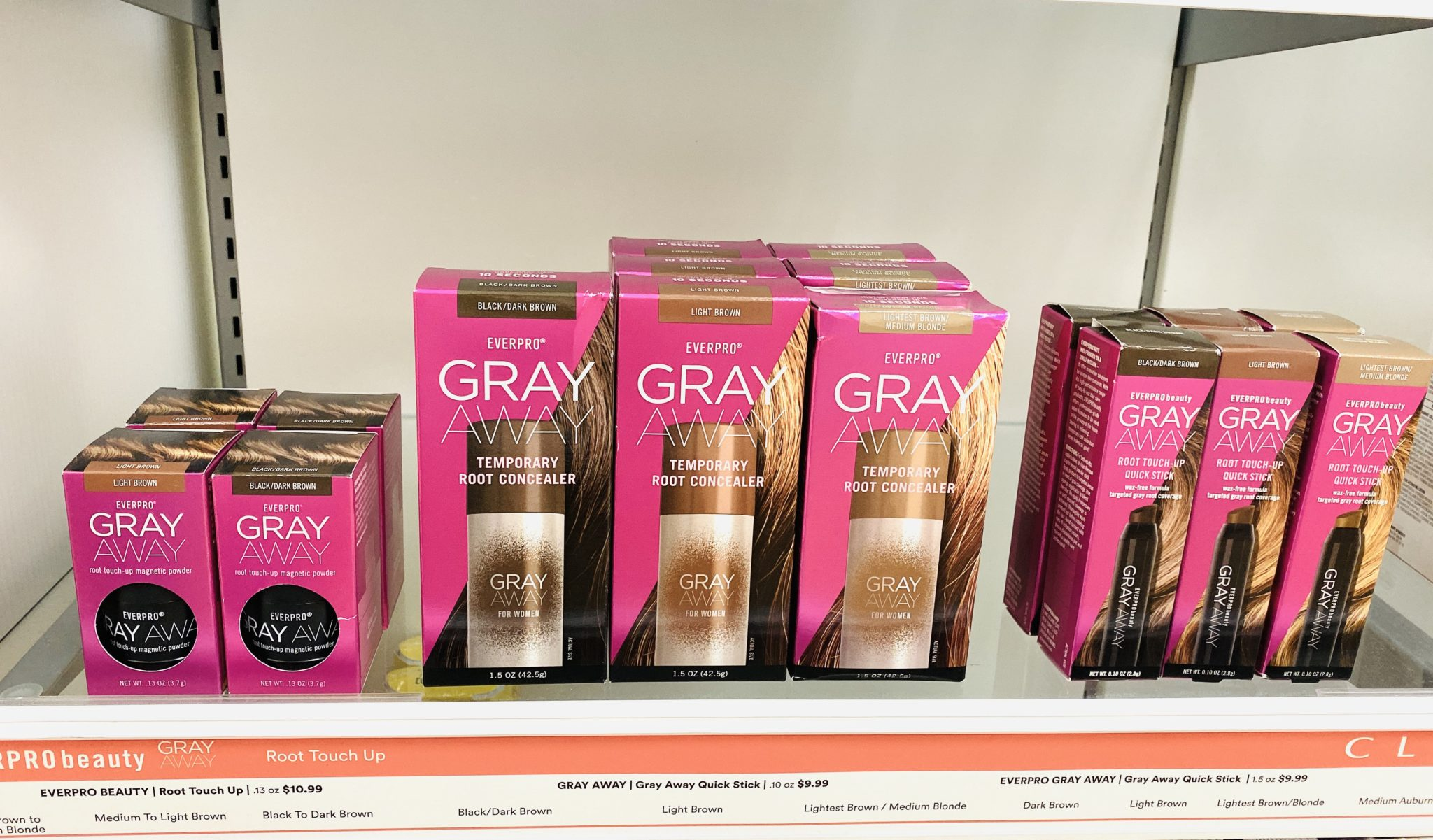 Gray Away at ULTA