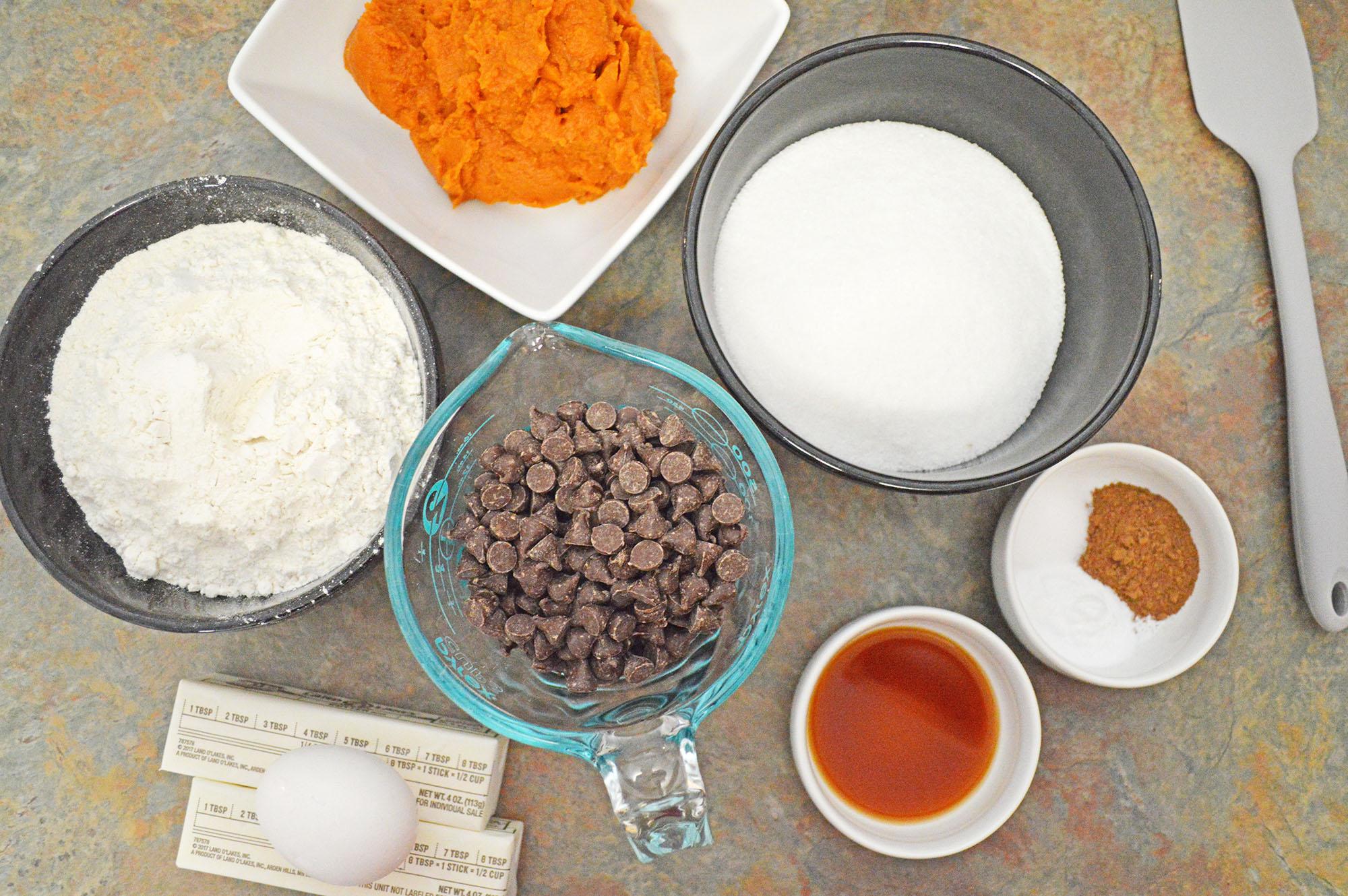 pumpkin blondie ingredients