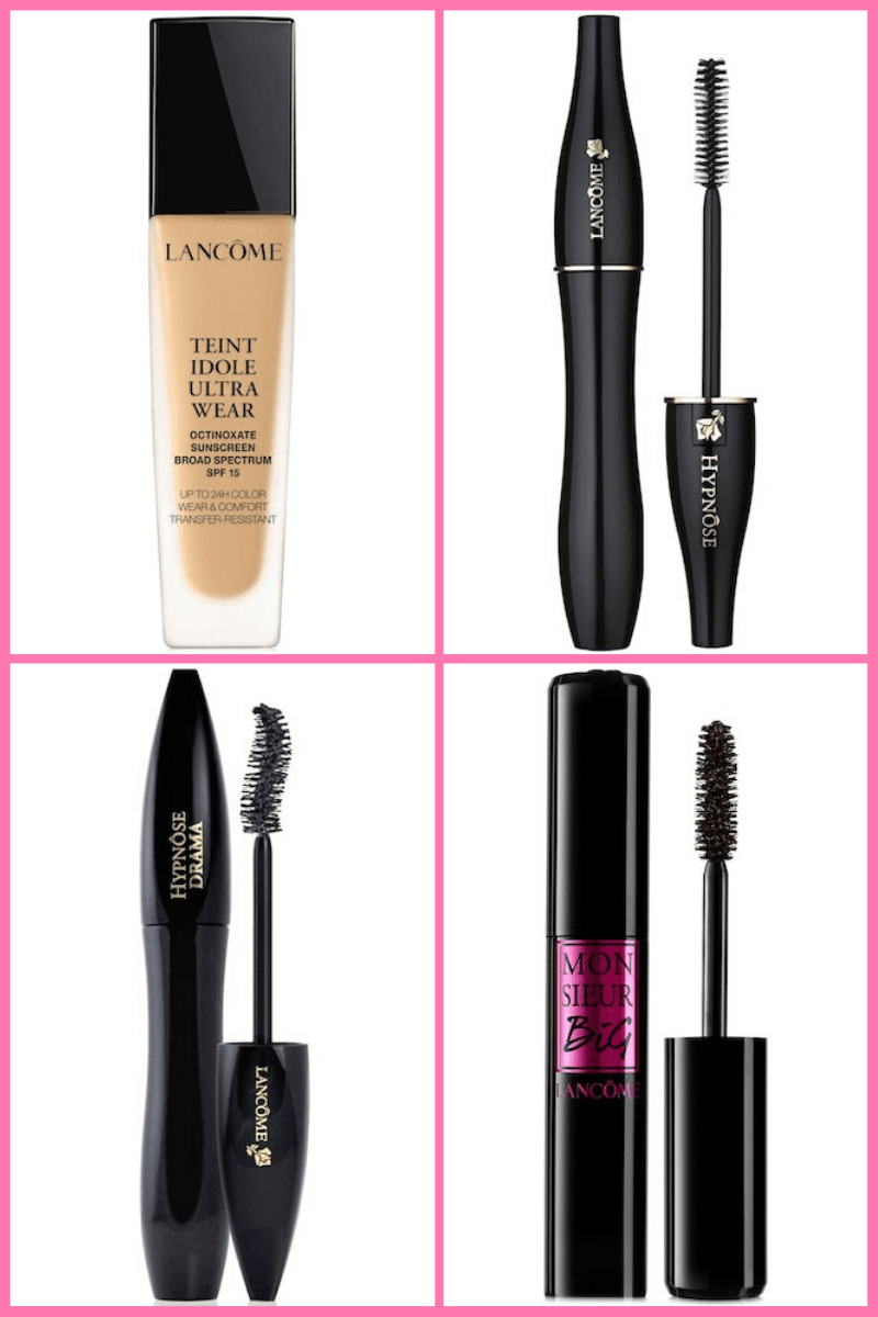 Lancome makeup favorites