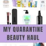 Springtime beauty products haul