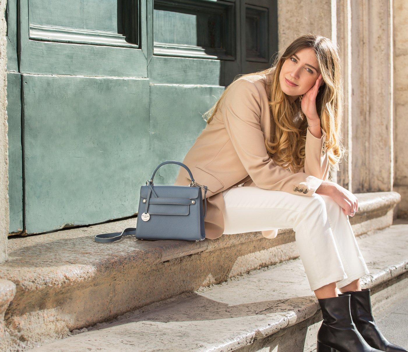 mirta leather handbag