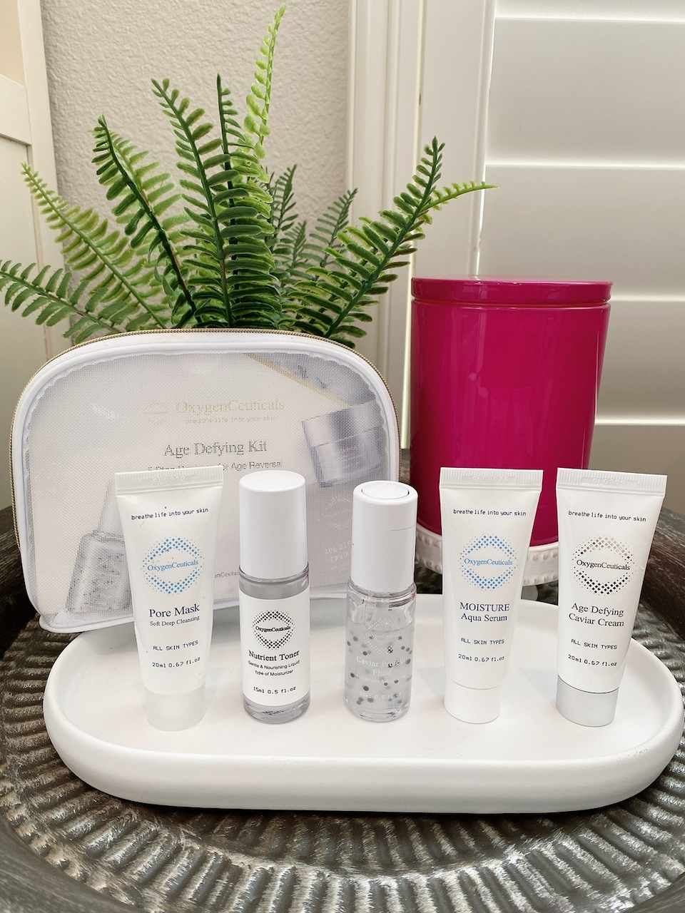 OxygenCeuticals anti-aging skincare products