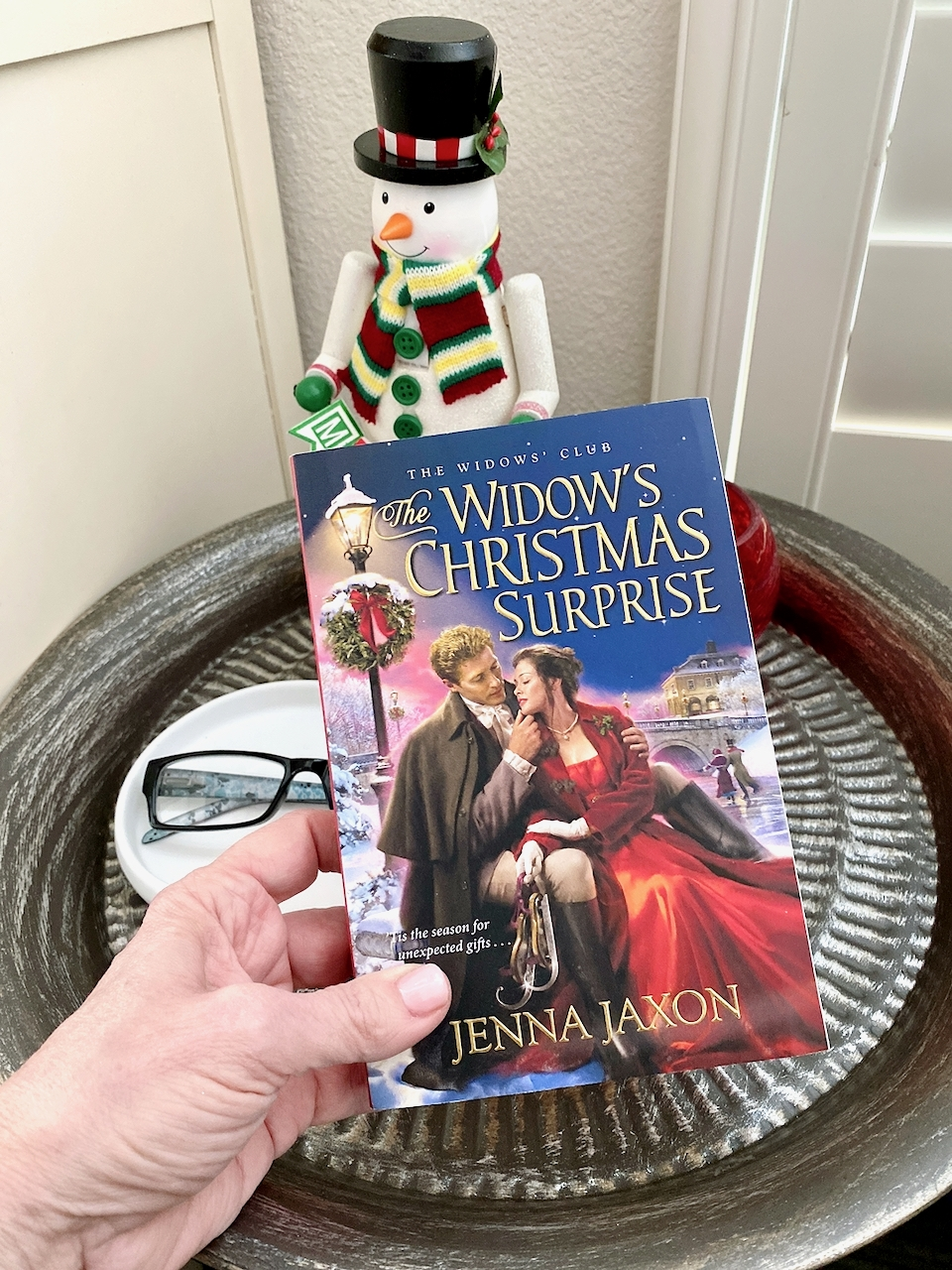 A Widow's Christmas Surprise book