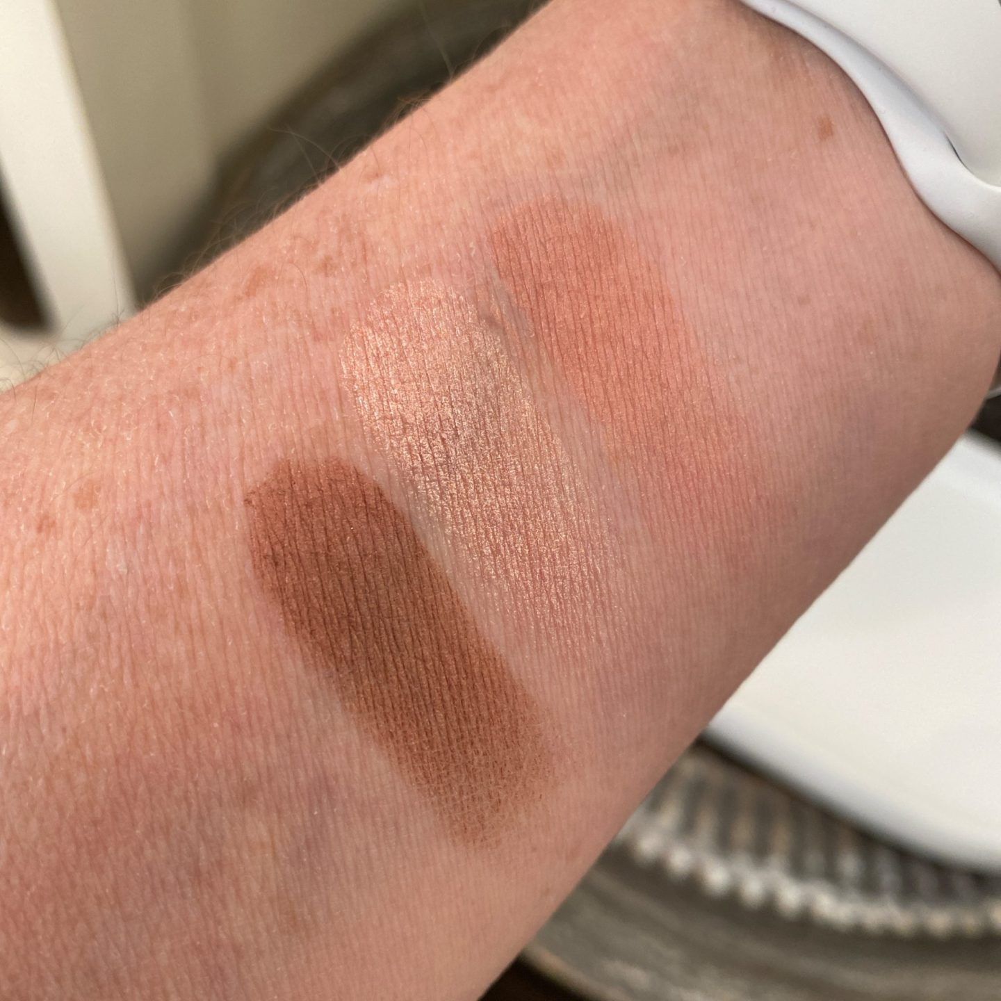 Nomad palette swatches