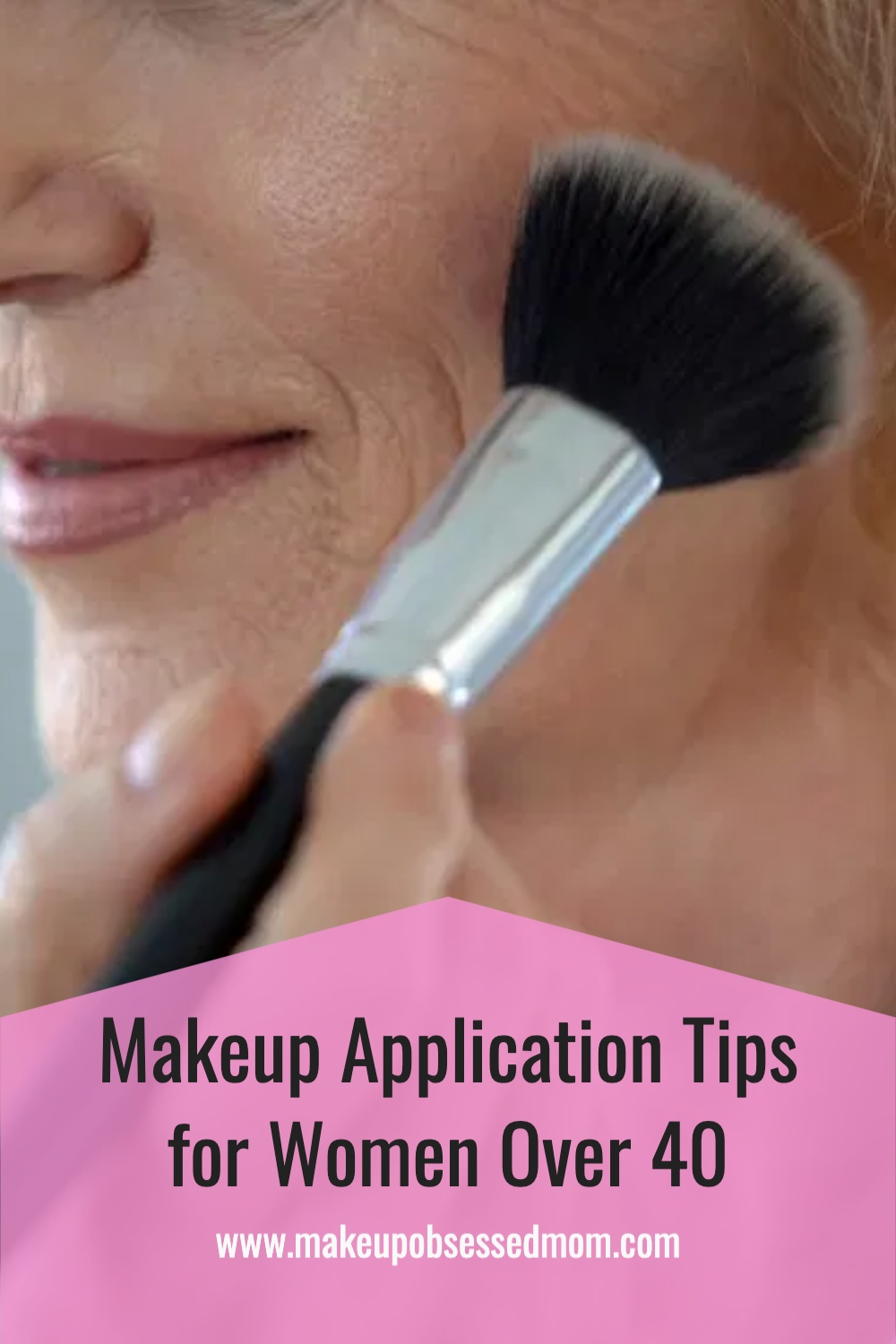 Makeup Application for Women Over 40