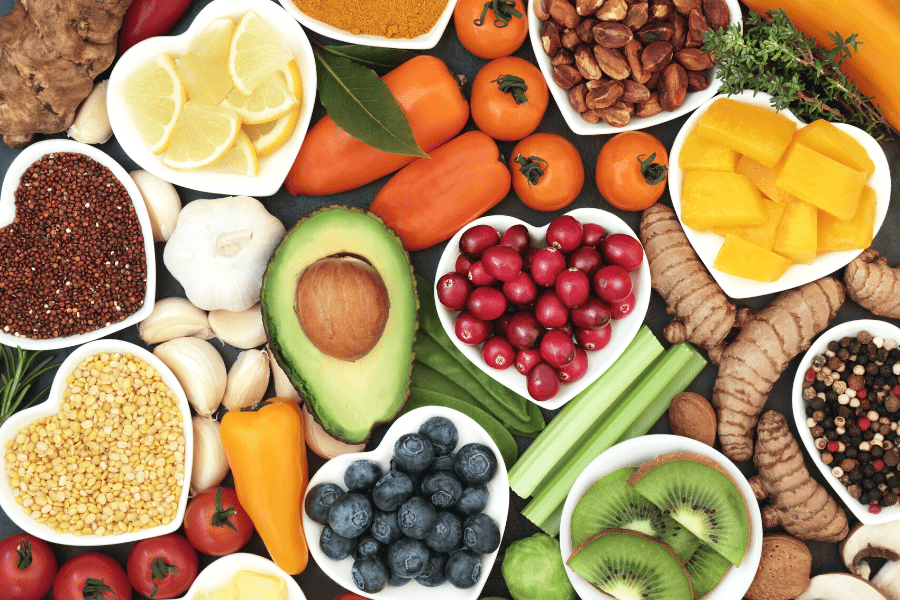 foods for youthful glowing skin
