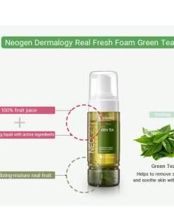 Real Fresh Foam Green Tea Makeup Stash pakistan