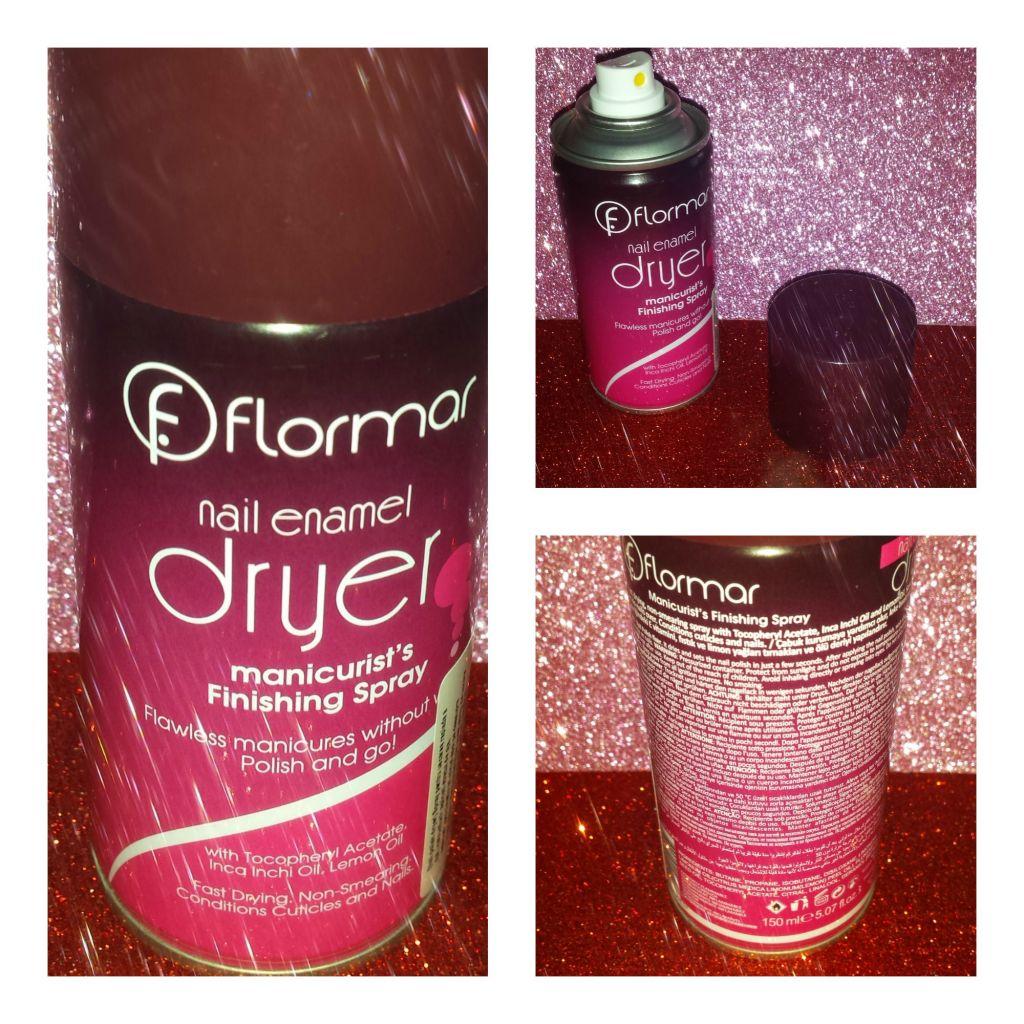 Spray uscare unghii Flormar