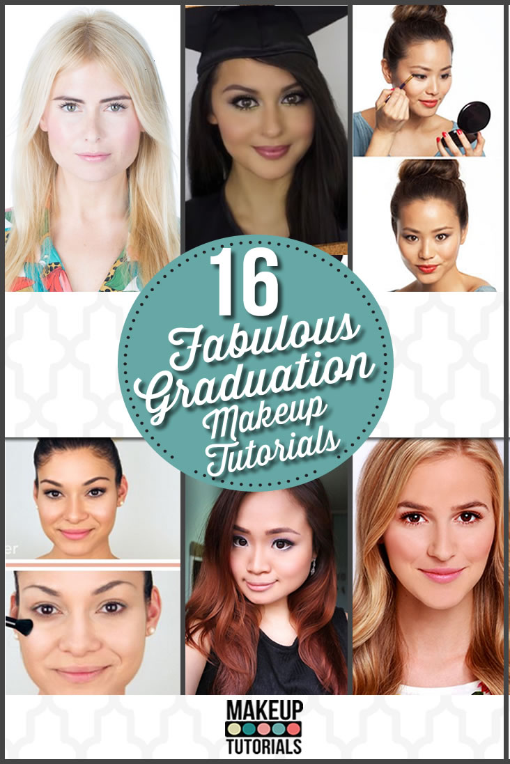 16 Easy Amp Pretty Graduation Makeup Tutorials