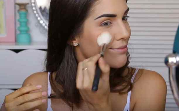 Apply blush | Glowing Drugstore Makeup Tutorial For Spring & Summer