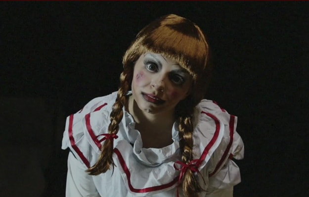 Annabelle (The Conjuring) | 15 DIY Movie-Inspired Makeup Inspirations for Halloween