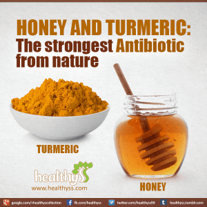 Turmeric and Honey – The Strongest Antibiotic from Nature