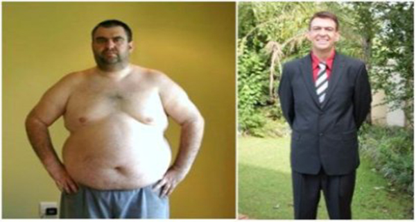Unbelievably - A Man Lost Whopping 180 pounds with Discarding Only One Thing from His Menu
