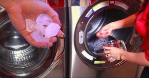 Amazing! She Puts Ice In Her Dryer, But When I See Why, I'm Pining To Try!!