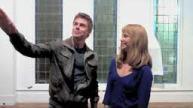Izabella Miko #8 with Derek Hough