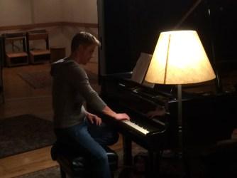 Derek Hough filming 'Let Me In' music video #21