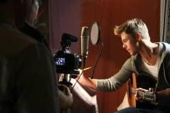 Derek Hough filming 'Let Me In' music video #7