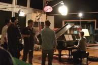 Derek Hough filming 'Let Me In' music video #14