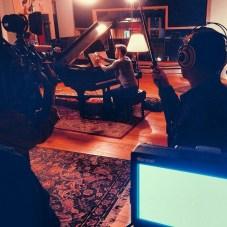 Derek Hough filming 'Let Me In' music video #24