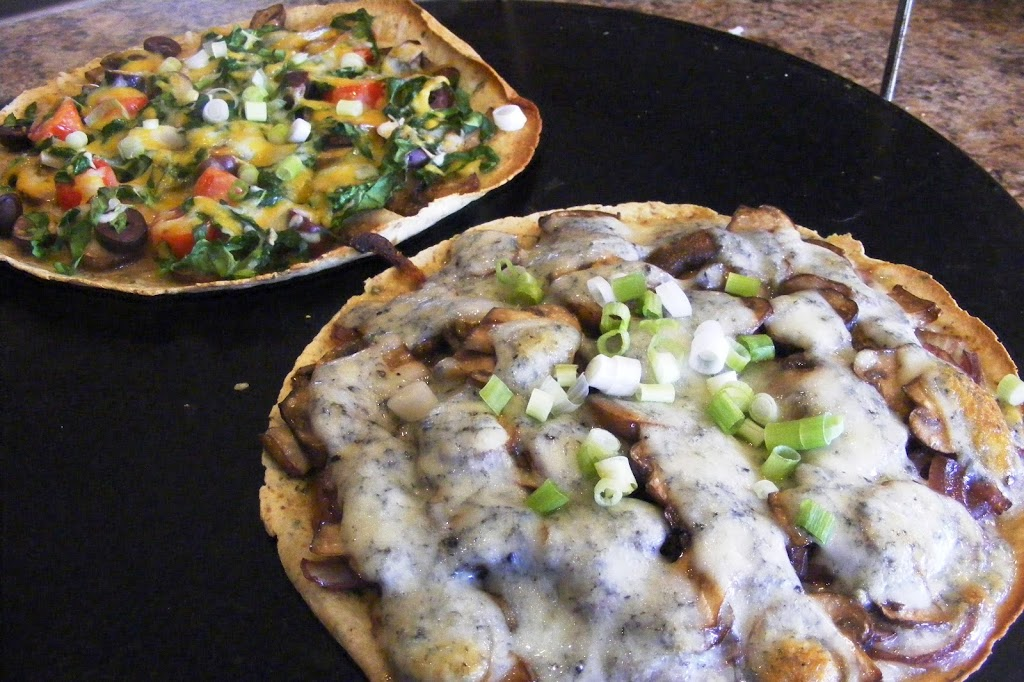 Personal Pizzas, Two Ways