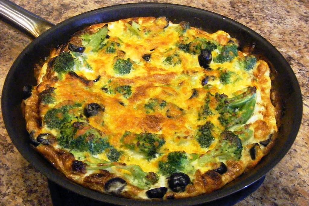 Broccoli Cheddar Frittata