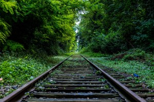 Railroad Tracks,