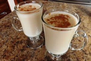 Warm Egg Nog
