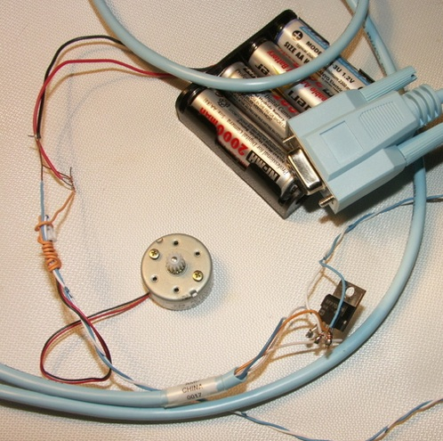 HOW TO – Serial controlled variable speed motor