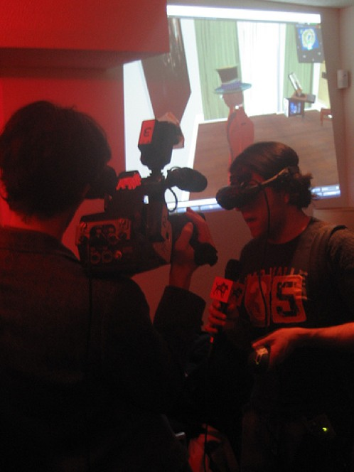 Photos and coverage from the mixed reality gathering…