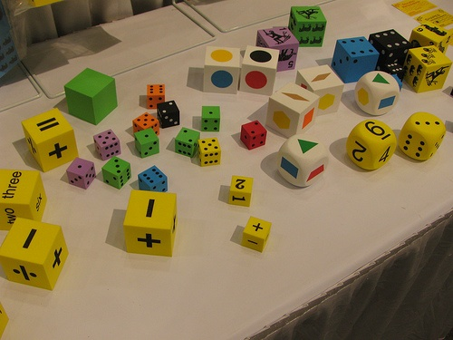 Dice, dice and more dice from Koplow