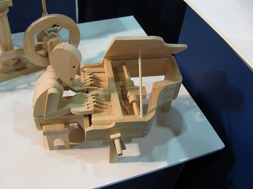 Mechanical marvels made from wood