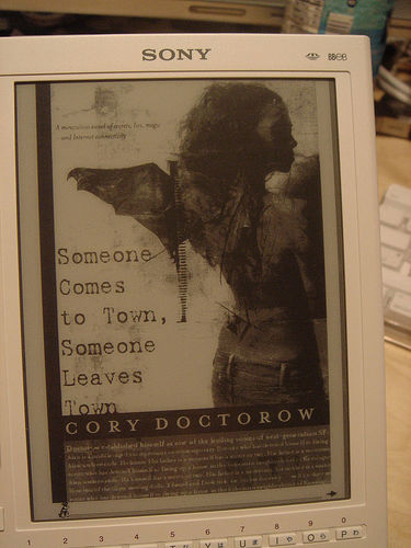 HOW TO make DRM-free ebooks for the Sony Librie e-ink ebook reader (part I)