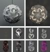 Maker of the day – Bathsheba Grossman, 3D sculptures digitally printed in metal