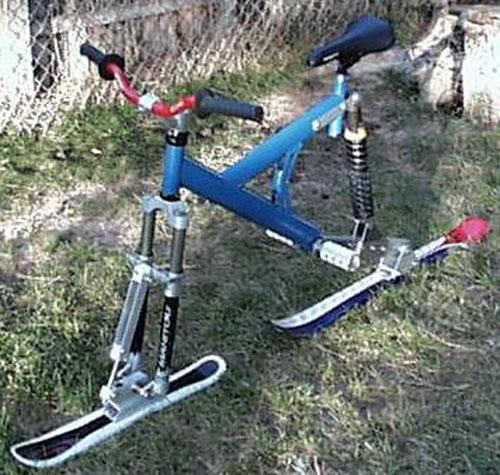 HOW TO – Full suspension ski Bike