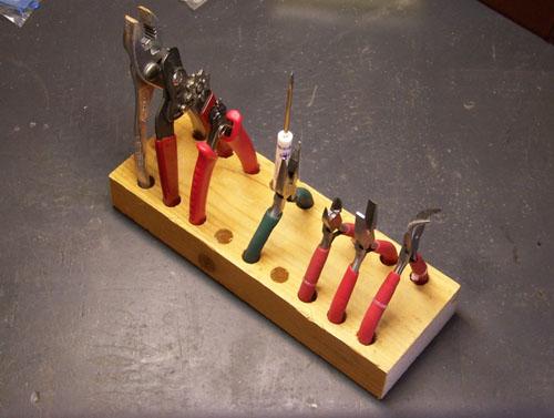Make a simple tool holder