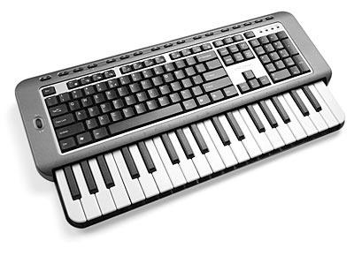 Keyboard and MIDI keyboard all in one!