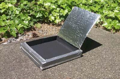 Make a pizza box solar oven