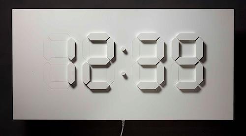 D/A clock raises/lowers physical segments